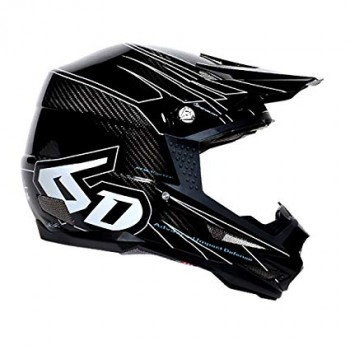 CASQUE 6D ATB-1 CARBON MACRO BLACK T.XS