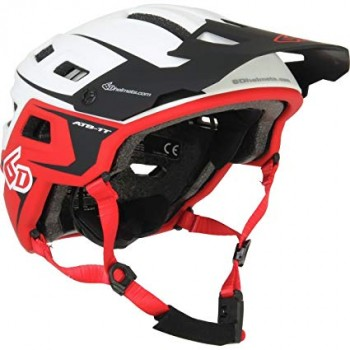 CASQUE 6D ATB-1T Evo White/Red