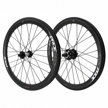 PRIDE HIGHMOD EXP CARBON 12K MATTE / RIVAL EXP DISC WHEELSET
