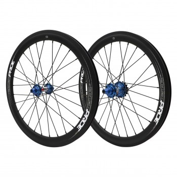 PRIDE HIGHMOD CARBON / RIVAL WHEELSET