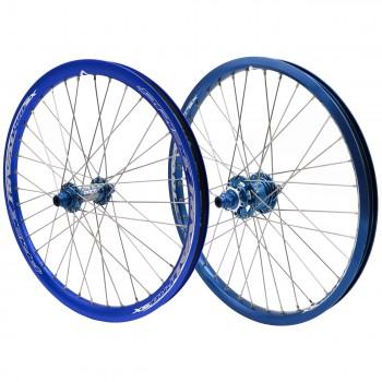 PRIDE RIVAL PRO SX DISC 36H BLUE WHEELSET