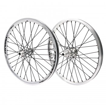 PRIDE RIVAL PRO SX DISC 36H POLISHED WHEELSET