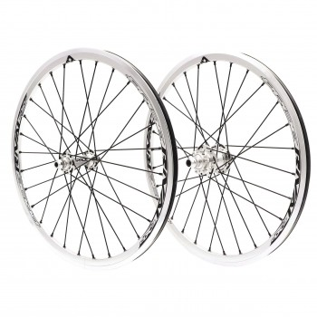 PRIDE RIVAL EXPERT DISC 28H POLISHED WHEELSET