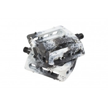 ODYSSEY TWISTED PRO PC 9/16 PEDALS BLACK/WHITE SWIRL