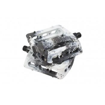 ODYSSEY TWISTED PRO PC 9/16 PEDALS BLACK/WHITE SWIRL