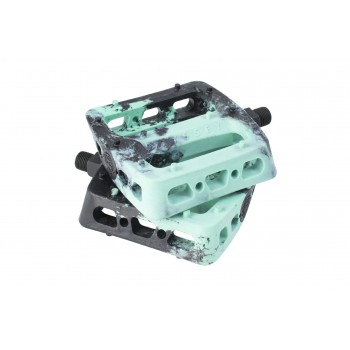 ODYSSEY TWISTED PRO PC 9/16 PEDALS BLACK/MINT SWIRL
