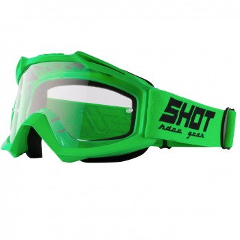 SHOT ASSAULT NEON GREEN GOGGLES