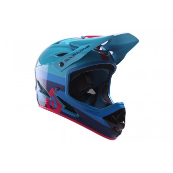 CASQUE SIXSIXONE COMP RED/BLUE 2017