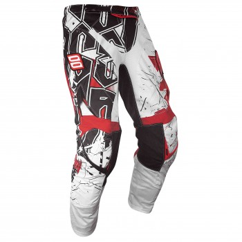 SHOT FLEXOR 13 IMPACT PANT WHITE/RED