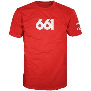 T-SHIRT 661 NUMERIC PREMIUM RED T.L
