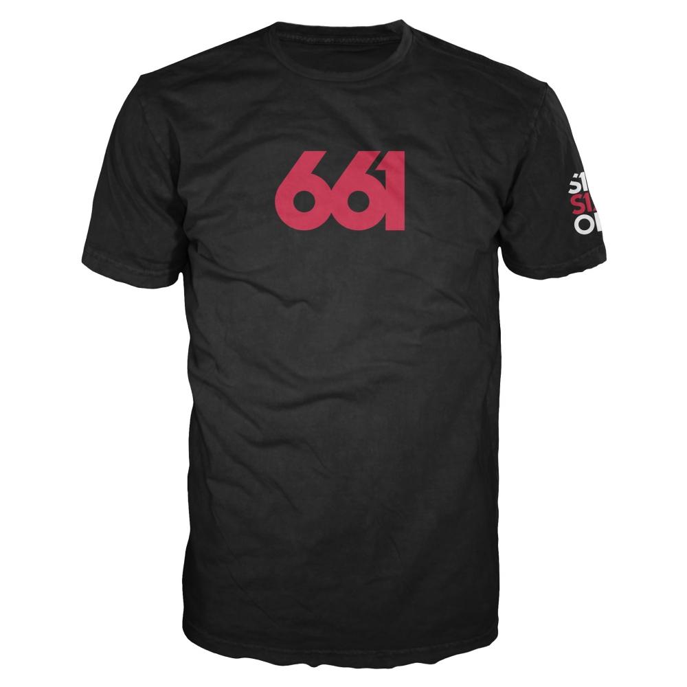 661 T-SHIRT NUMERIC PREMIUM BLACK