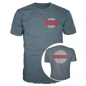 661 T-SHIRT TWO WHEELS PREMIUM GREY