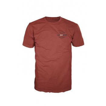 661 T-SHIRT CHANCES PREMIUM BURGUNDY S.L