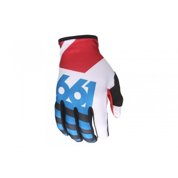 661 GLOVES COMP RED/BLUE/WHITE