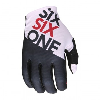 661 GLOVES RAJI BLACK/WHITE S.L