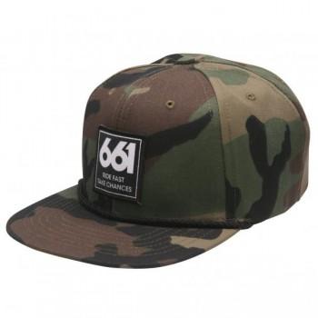 661 CAP RIDE FAST CAMO