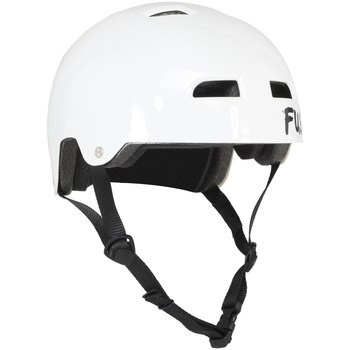 CASQUE FUSE ALPHA ICON GLOSSY WHITE