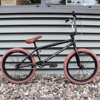 BMX WETHEPEOPLE CRS MATT BLACK CUSTOM GUM 2019