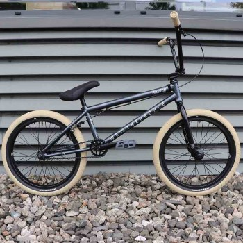 BMX WTP JUSTICE METALLIC GREY CUSTOM SAND