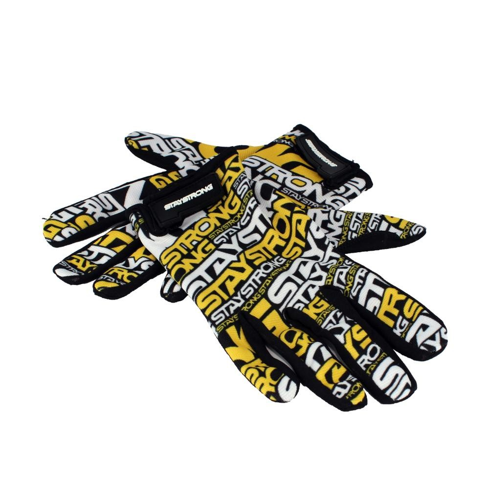 STAY STRONG GLOVES MASH UP V3 YELLOW