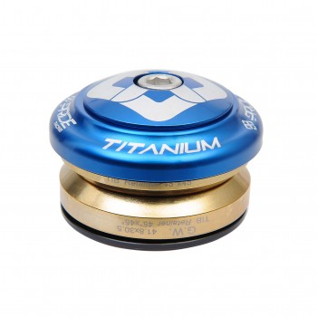 JEU DE DIRECTION PRIDE TI45 TITANIUM BLUE