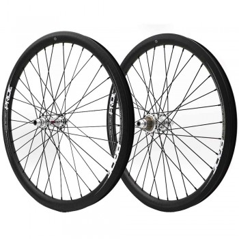 "PRIDE HIGHMOD 24"" CARBON / RIVAL DISC WHEELSET"