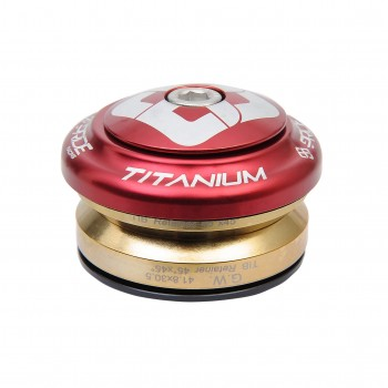 JEU DE DIRECTION PRIDE TI45 TITANIUM RED
