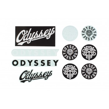 ODYSSEY STICKERS PACK ASSORTED (X10 PCS)