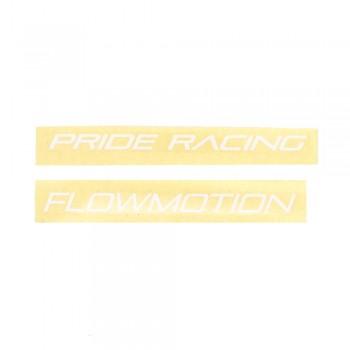 PRIDE RACING STICKERS FLOWMOTION