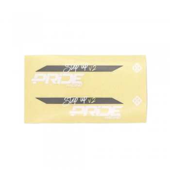 PRIDE RACING STEP UP V2 STICKERS
