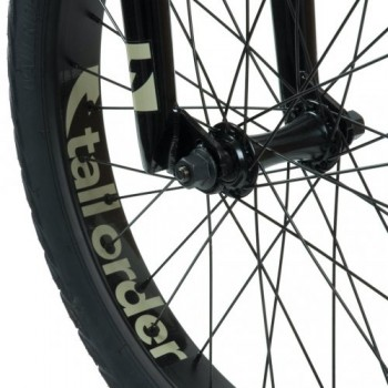 BMX TALL ORDER FLAIR GLOSS BLACK 20.6''