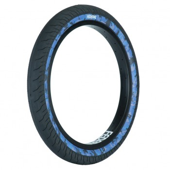 FEDERAL COMMAND LP TIRE BLACK WITH BLUE CAMO SIDEWALL
