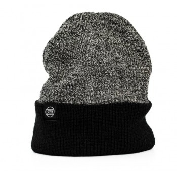 STAY STRONG ICON CUFF BEANIE GREY/BLACK