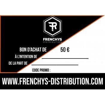 BON D'ACHAT FRENCHYS 50€