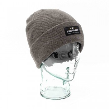 INSPYRE LABEL BEANIE - GREY