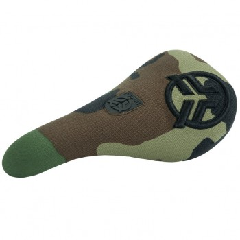 SELLE FEDERAL SLIM PIVOTAL LOGO CAMO RAISED STITCHING BLACK