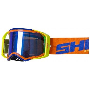 SHOT GOGGLES LITE BLUE NEON ORANGE GLOSSY