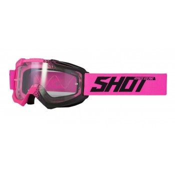 SHOT ASSAULT FUSION GOGGLES NEON PINK MATT
