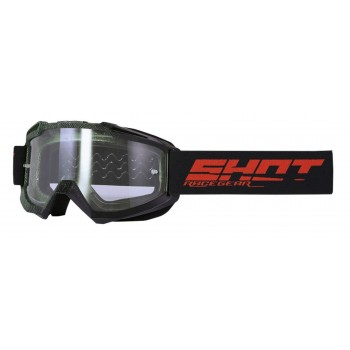 SHOT ASSAULT ELITE GOGGLES BLACK KAKI MATT