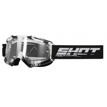 SHOT ASSAULT OVER GOGGLES BLACK GLOSSY