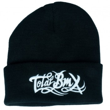 BONNET TOTAL BMX LOGO BLACK