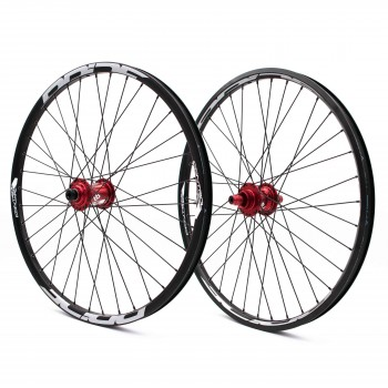 PRIDE CONTROL PRO CRUISER 36H WHEELSET RED