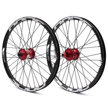 PRIDE CONTROL PRO DISC 36H WHEELSET RED