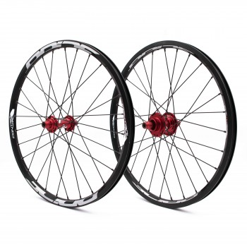 PRIDE CONTROL EXP 28H RED WHEELSET