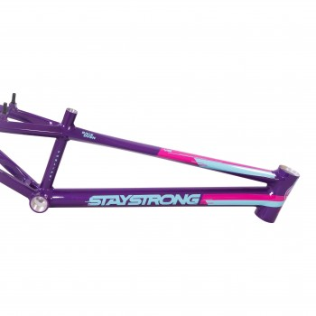 STAY STRONG FOR LIFE V3 FRAME - PURPLE / TEAL / PINK