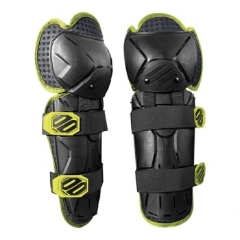 SHOT OPTIMAL KID KNEEGUARD BLACK/ YELLOW
