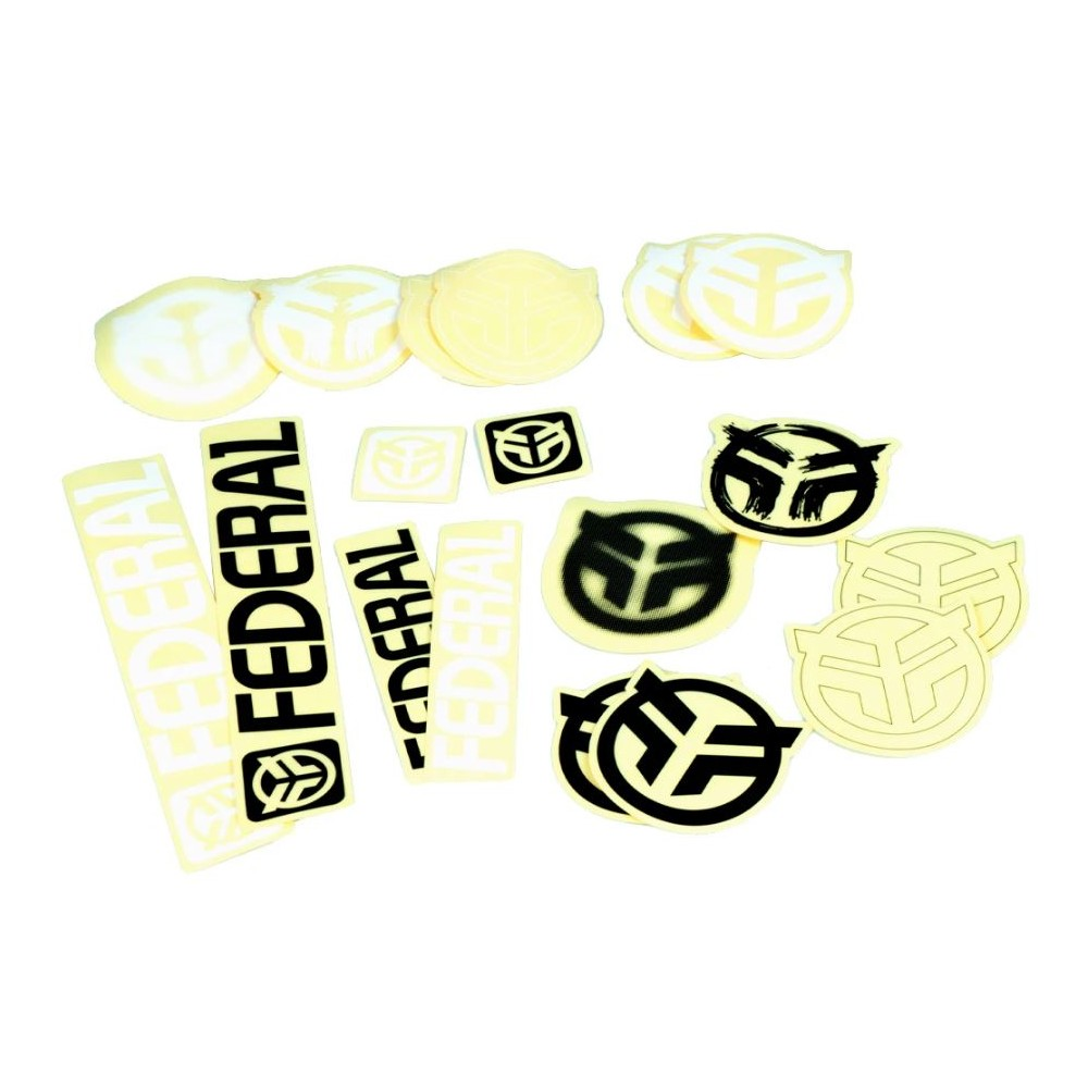 FEDERAL STICKER PACK 18PCS