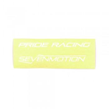 STICKER FULL PACK PRIDE RACING SEVENMOTION 8'' - WHITE