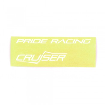 PRIDE RACING STICKER FULL PACK SEVENMOTION CRUISER - WHITE
