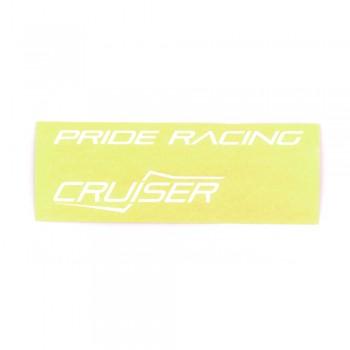 STICKER FULL PACK PRIDE RACING SEVENMOTION CRUISER - WHITE